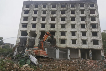 绵阳城区这幢房屋正式拆除,未来规划
