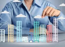2021年一季度百强房企近半市值下跌 龙头、强运营房企迎来机会